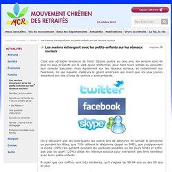 Les seniors échangent avec les petits-enfants sur les réseaux sociaux - 09/09/16