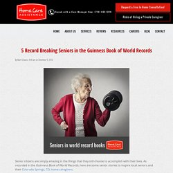 Top 5 Seniors in the Guinness Book of World Records