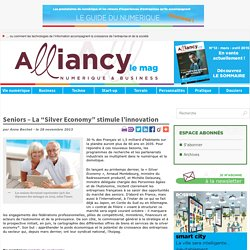 "Seniors – La ""Silver Economy"" stimule l'innovation"