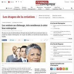 Les seniors au chômage, très nombreux à créer leur entreprise - LExpress.fr
