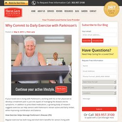 Why Seniors with Parkinson's Should Remain Active