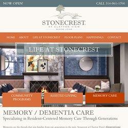 Seniors Living Memory Care Program in St. Louis, Missouri