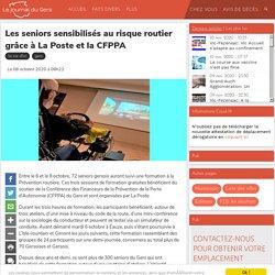Les seniors sensibilisés au risque routier grâce à La Poste et la CFPPA