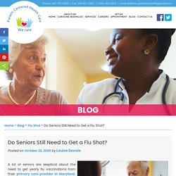 Do Seniors Still Need to Get a Flu Shot?