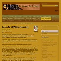 Sennefer (XVIIIe dynastie)