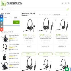 Buy Sennheiser Corded Headsets Online