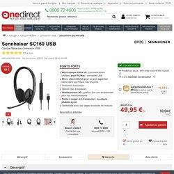 Sennheiser SC160 USB - Casque filaire - Professionnel