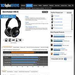 Pros & Cons of Bluetooth Headphones - TopTenREVIEWS