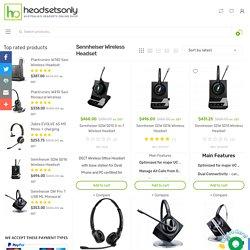 Buy Sennheiser Wireless Headsets Online