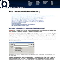 Tutorial: Flash Frequently Asked Questions (FAQ) page 1