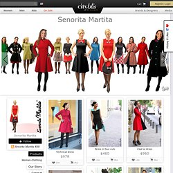 exclusive SHOP ONLINE Señorita Martita