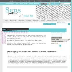 Sens Public