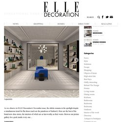 SENSATIONAL SHOE STORES - ELLE Decoration UK