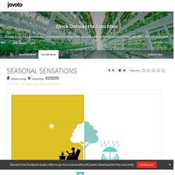 jovoto / SEASONAL SENSATIONS / Think Outside the Lunchbox / adidas, Freudenberg, Markas, ATP architects engineers & Hilcona
