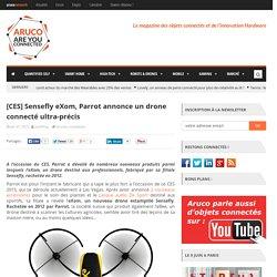 Sensefly eXom, Parrot annonce un drone connecté ultra-précis