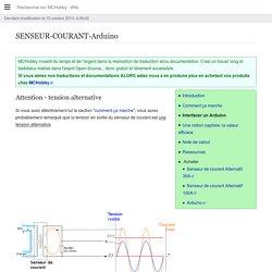 SENSEUR-COURANT-Arduino