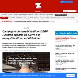 Campagne de sensibilisation: CERP Réunion apporte sa pierre à la démystification de l'Alzheimer