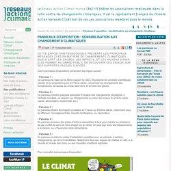 5 affiches pour mieux comprendre le changement climatique