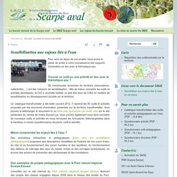 Sensibilisation aux enjeux liés à l'eau - SAGE Scarpe Aval