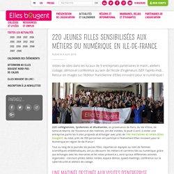 220 jeunes filles sensibilisées aux métiers du numérique en Ile-de-France