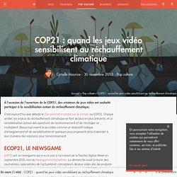 COP21 : quand les jeux vidéo sensibilisent au réchauffement climatique - Pop culture - Numerama