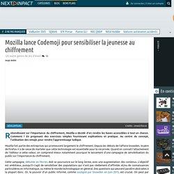 Mozilla lance Codemoji pour sensibiliser la jeunesse au chiffrement