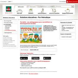 Terrabilis : jeu pédagogique pour sensibiliser au développement durable