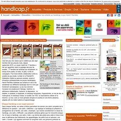 Sensibiliser les enfants au handicap, le jeu Hand17familles - Éducation (8284)