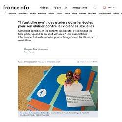 """""""Il faut dire non"""" : des ateliers dans les écoles pour sensibiliser contre le..."""