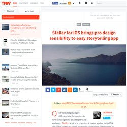 Steller Brings Pro Design Sensibility to Easy Storytelling App