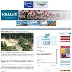 Baisse sensible de l'orpaillage illégal en Guyane