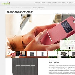 Touch Sensitive iPhone Flip Case