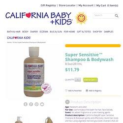 8.5oz Super Sensitive Shampoo & Bodywash