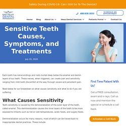 Sensitive Teeth Causes, Symptoms, and Treatments