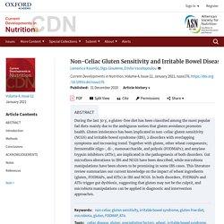 Non-Celiac Gluten Sensitivity and Irritable Bowel Disease: Looking for the Culprits