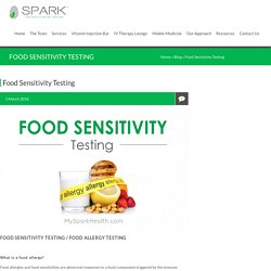 Food Sensitivity Testing San Diego