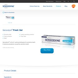 Sensodyne Fresh Gel - Teeth Whitening Gel