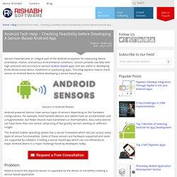 Sensor in Smartphone