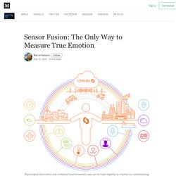 Sensor Fusion: The Only Way to Measure True Emotion