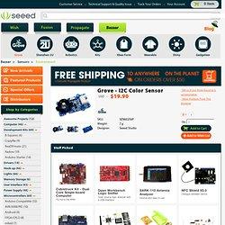 I2C Color Sensor [SEN60256P