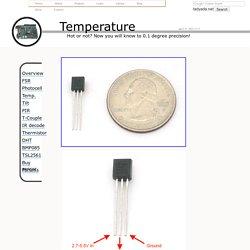 Sensor tutorials