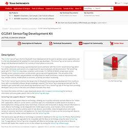 CC2541 SensorTag Development Kit - CC2541DK-SENSOR