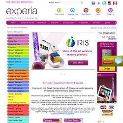 Experia | Sensory Equipment | Special Needs Equipment | Sensory Rooms