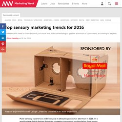 Top sensory marketing trends for 2016