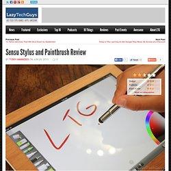 Sensu Stylus and Paintbrush Review