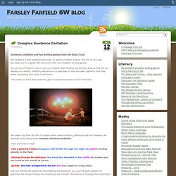 mplex Sentence Imitation › Farsley Farfield 6W blog