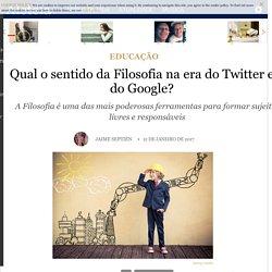 Qual o sentido da Filosofia na era do Twitter e do Google? - Educação - Aleteia: vida plena com valor