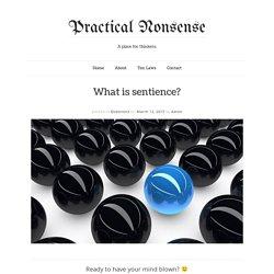 Practical Nonsense