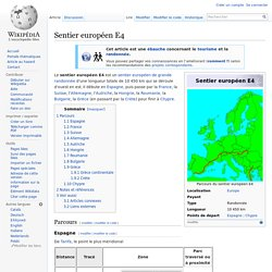 Sentier européen E4