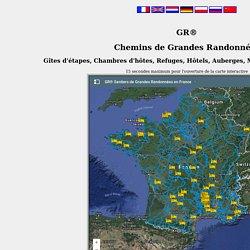 GR® Sentiers de Grandes Randonnées en France